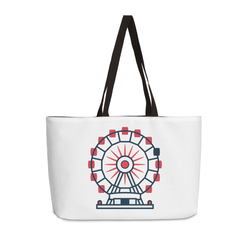 Atlanta Ferris Wheel Accessories Weekender Bag Bag by