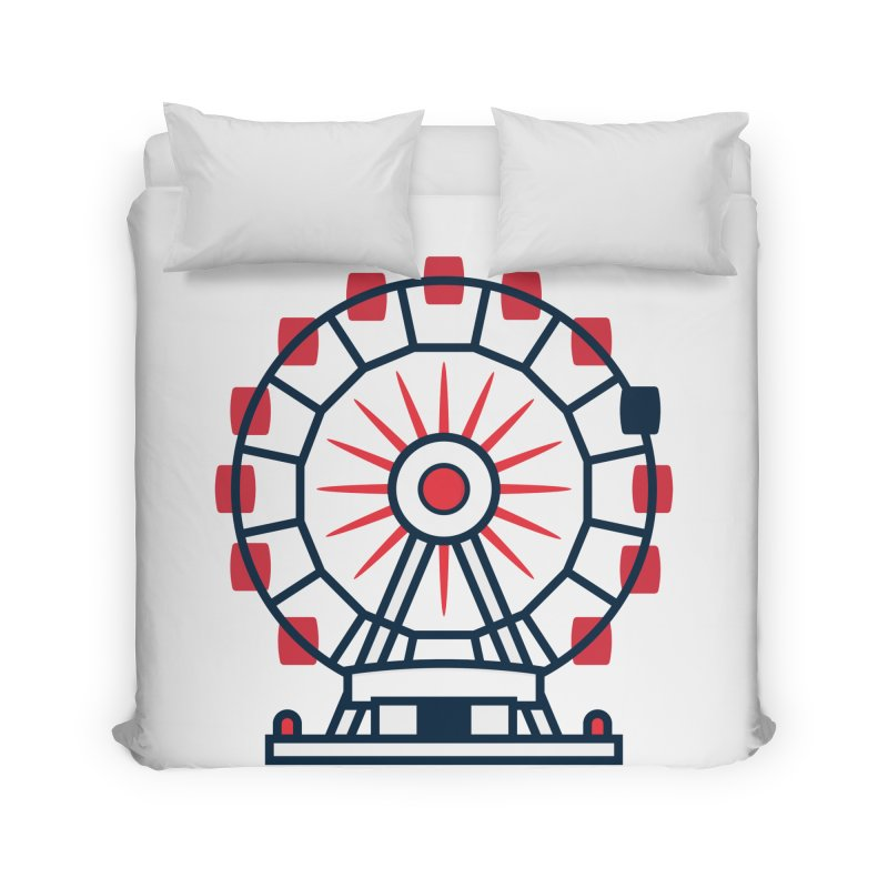 Atlanta Ferris Wheel Home Duvet by