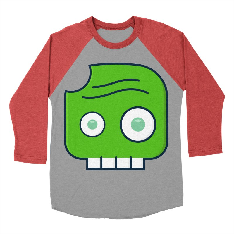 Atlanta Zombie Men's Baseball Triblend Longsleeve T-Shirt by