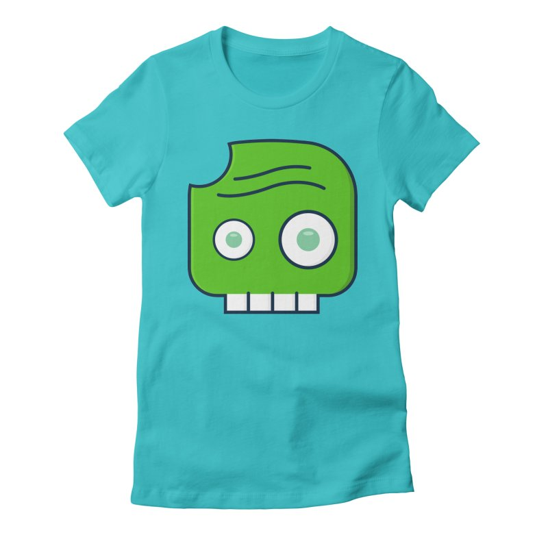 Atlanta Zombie Women's Fitted T-Shirt by