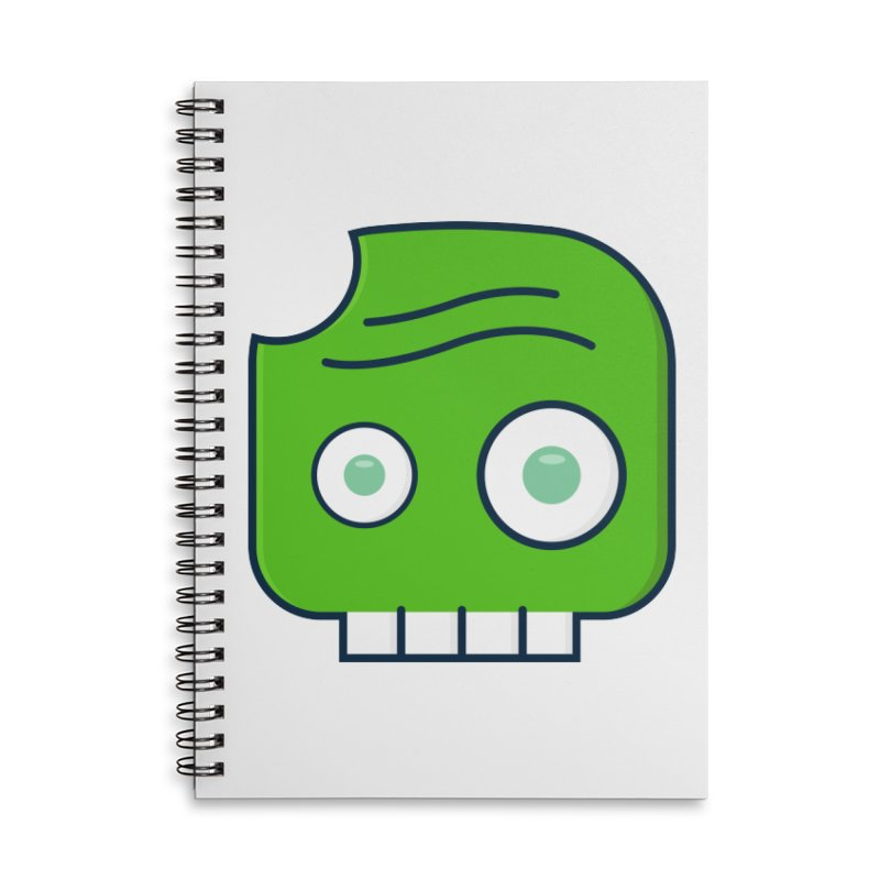 Atlanta Zombie Accessories Lined Spiral Notebook by