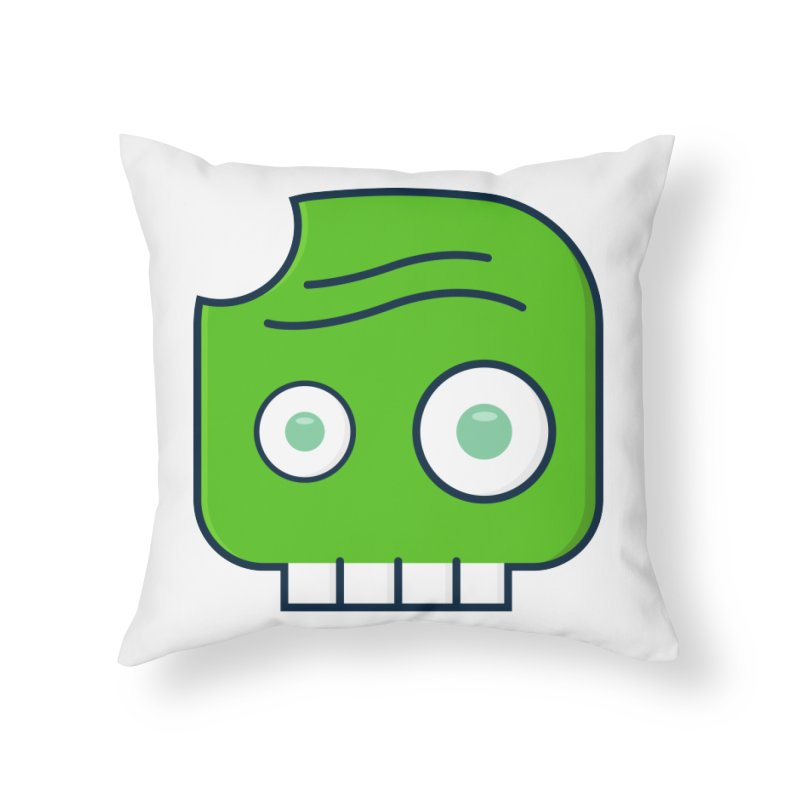 Atlanta Zombie Home Throw Pillow by