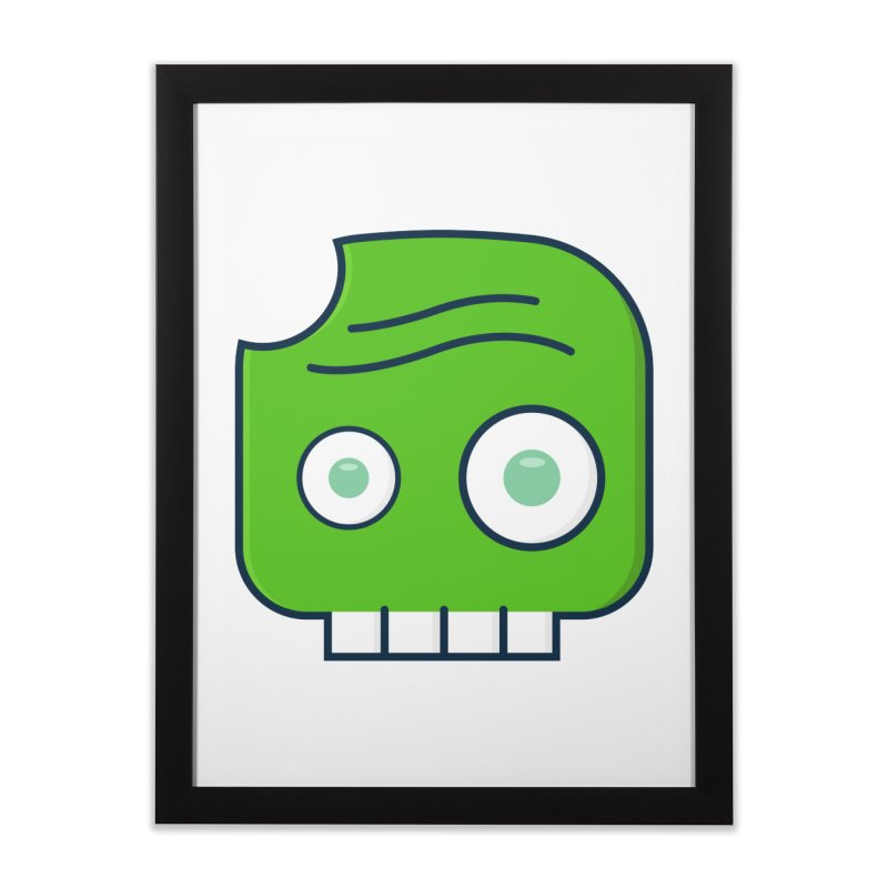 Atlanta Zombie Home Framed Fine Art Print by
