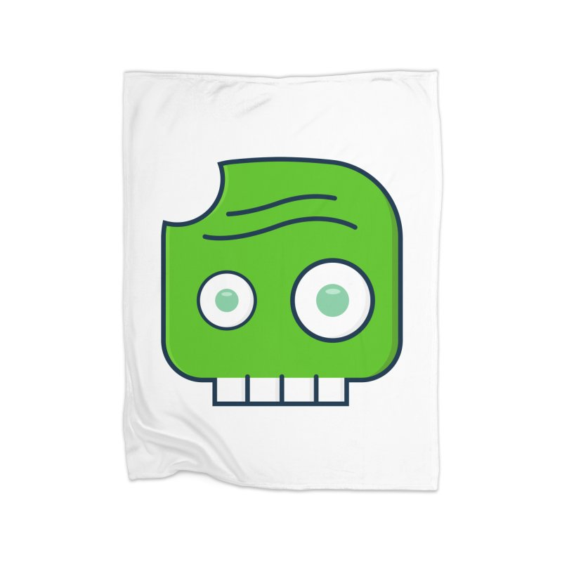 Atlanta Zombie Home Fleece Blanket Blanket by