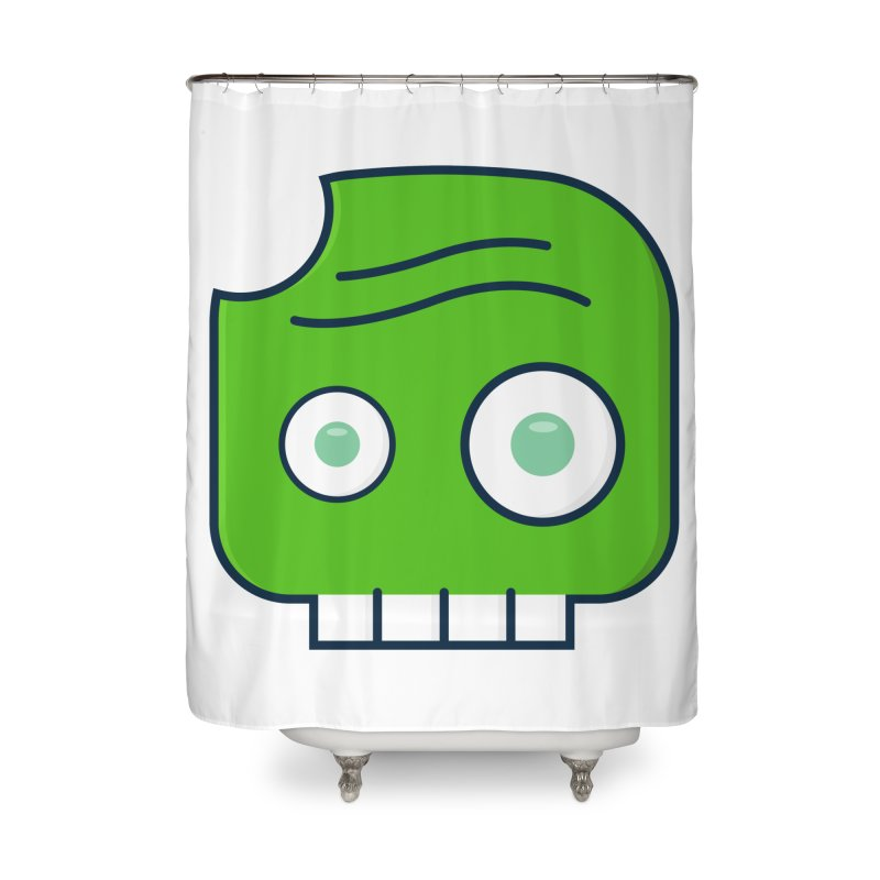 Atlanta Zombie Home Shower Curtain by
