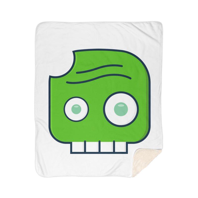 Atlanta Zombie Home Sherpa Blanket Blanket by