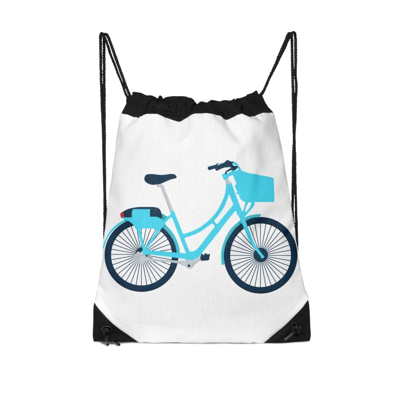 Bike Accessories Drawstring Bag Bag by