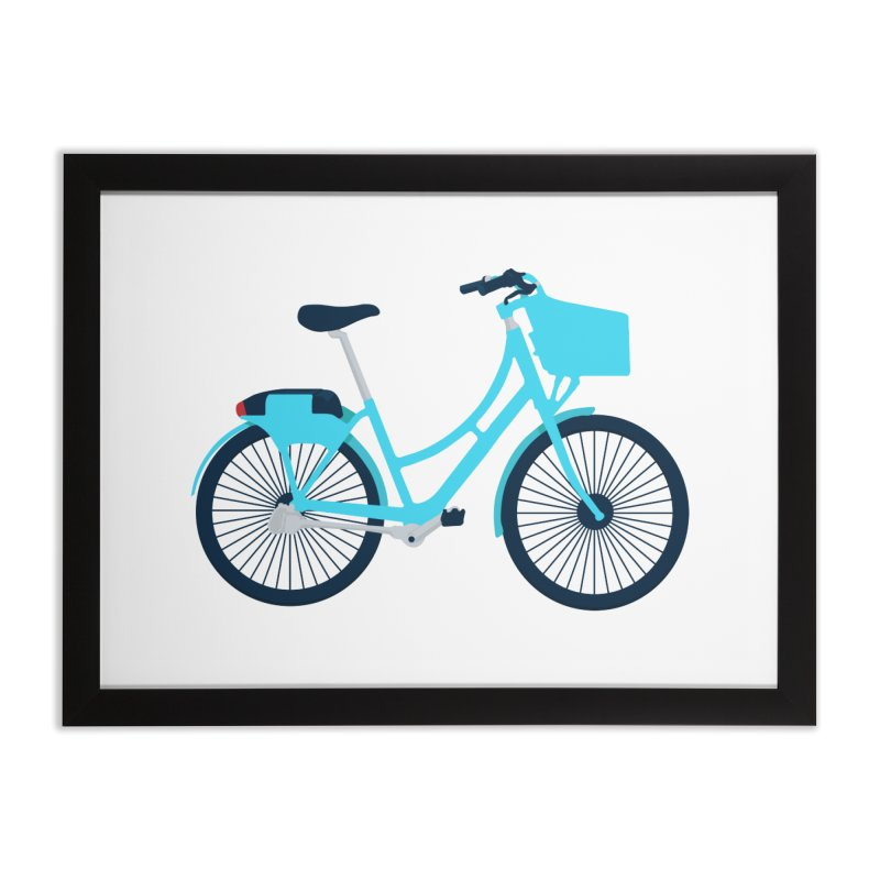 Bike Home Framed Fine Art Print by