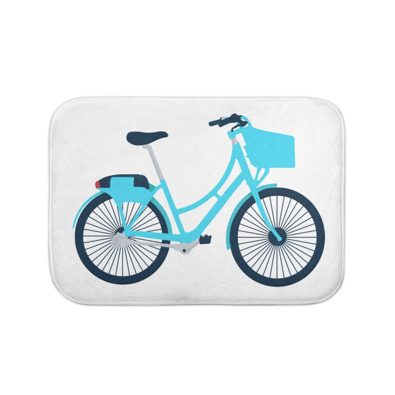 Bike Home Bath Mat by
