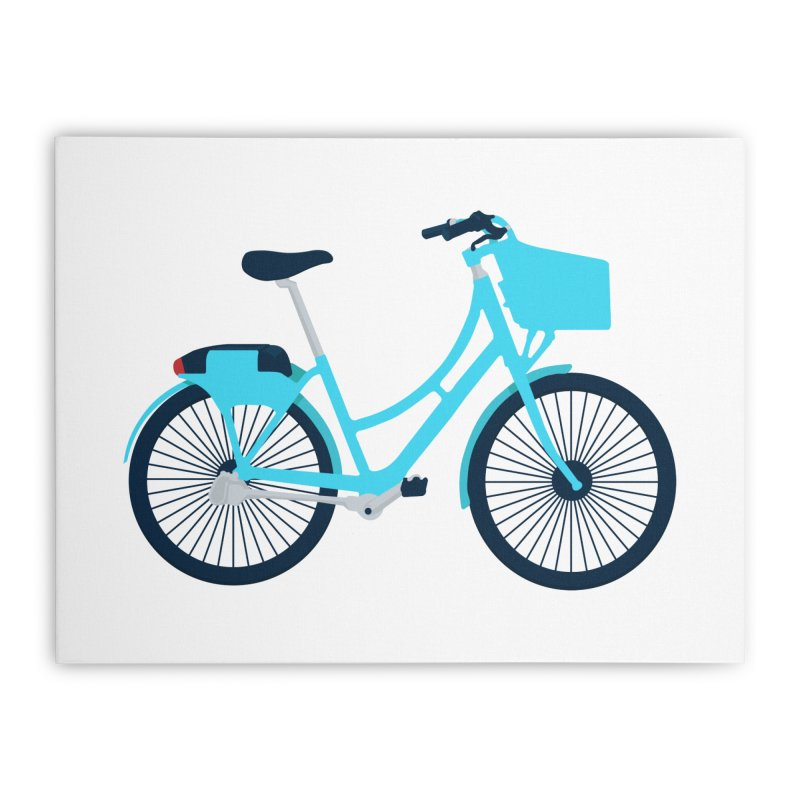 Bike Home Stretched Canvas by