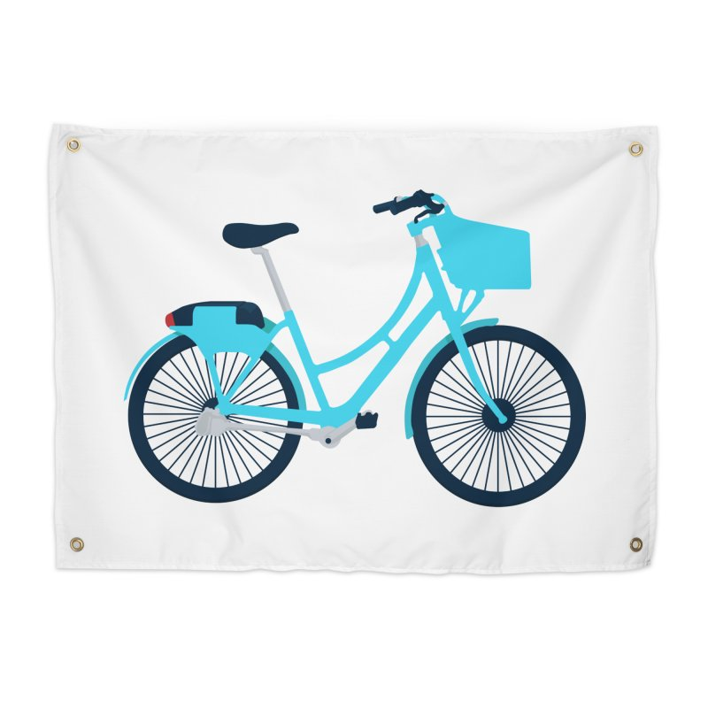 Bike Home Tapestry by