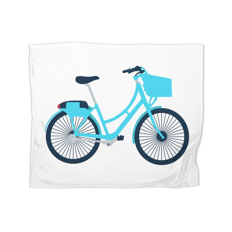 Bike Home Fleece Blanket Blanket by