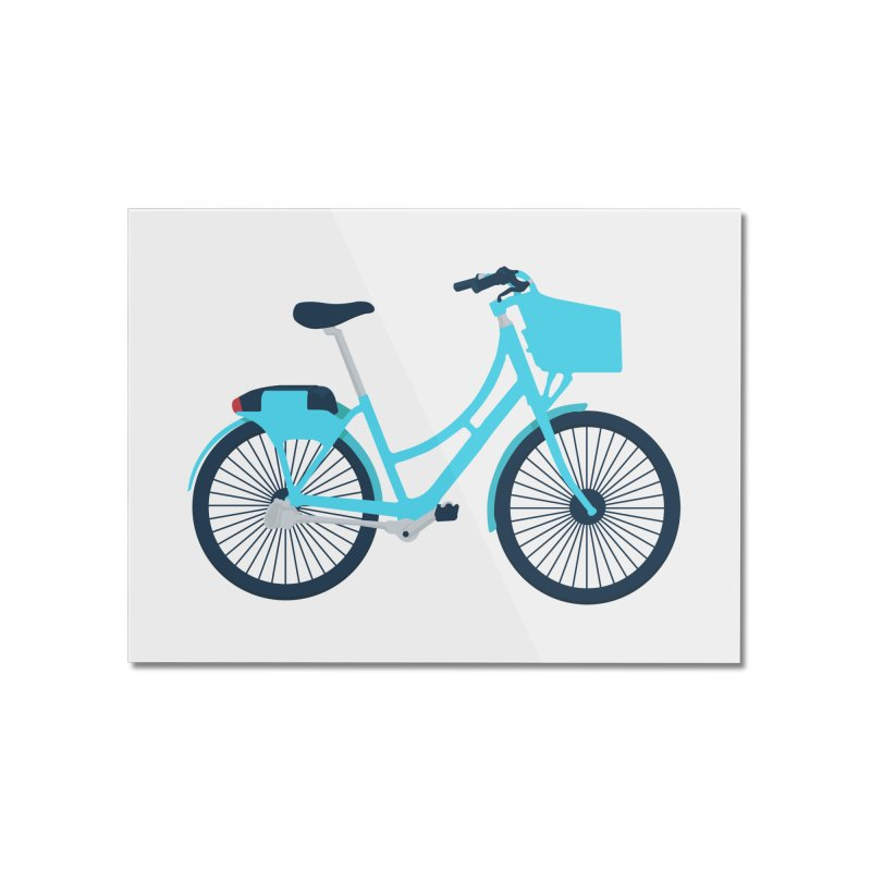 Bike Home Mounted Acrylic Print by