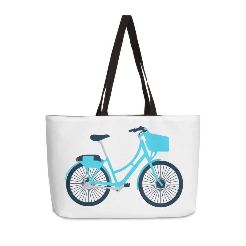 Bike Accessories Weekender Bag Bag by