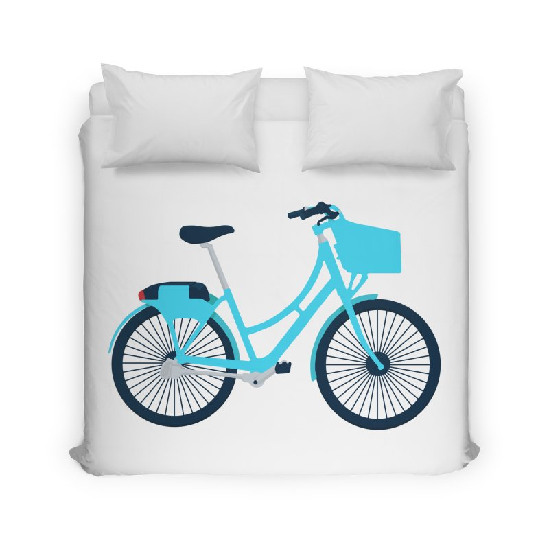 Bike Home Duvet by