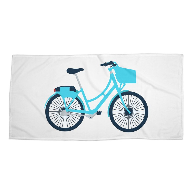 Bike Accessories Beach Towel by