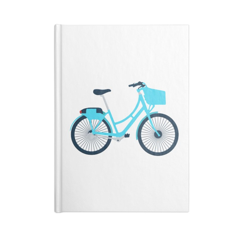 Bike Accessories Blank Journal Notebook by