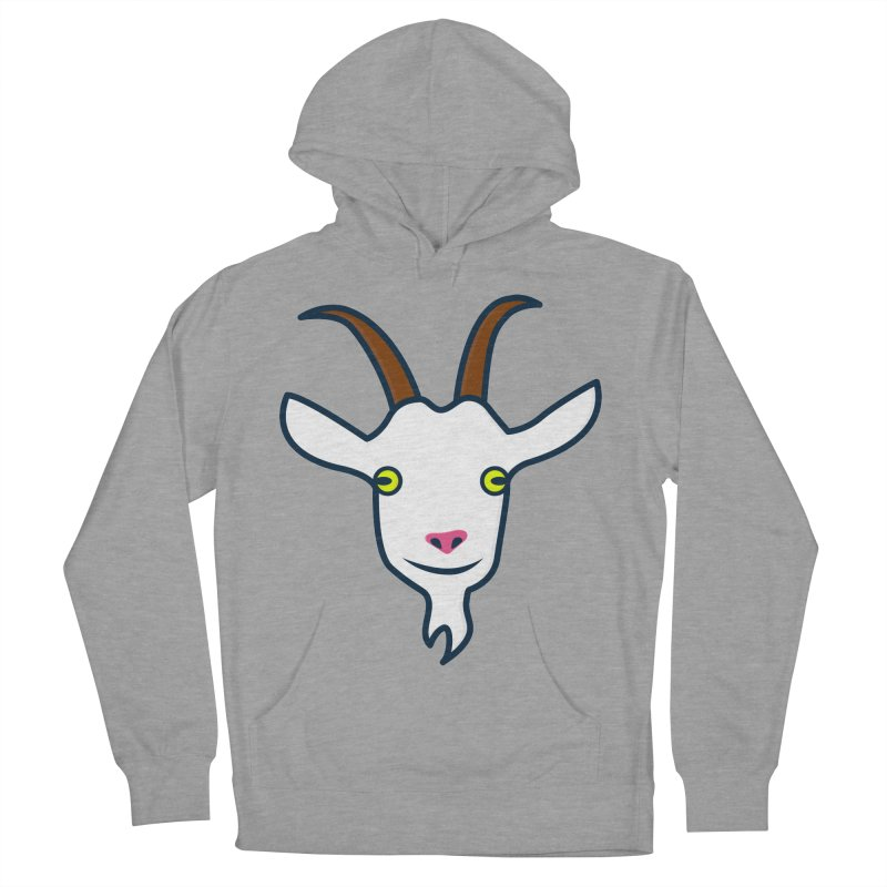 Goat Women's French Terry Pullover Hoody by