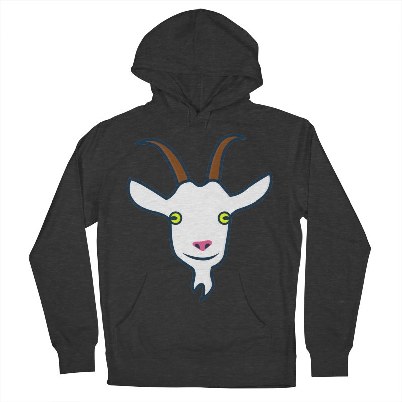 Goat Men's French Terry Pullover Hoody by