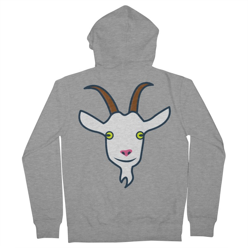 Goat Women's French Terry Zip-Up Hoody by
