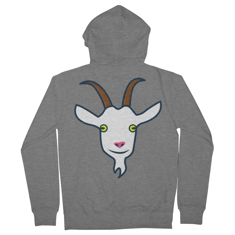 Goat Men's French Terry Zip-Up Hoody by