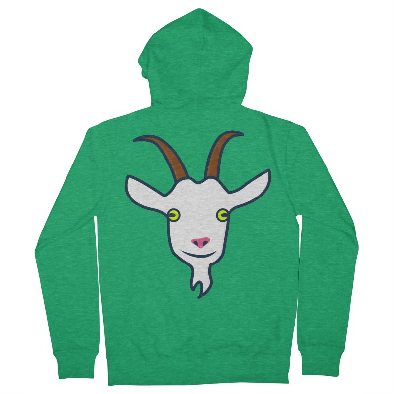 Goat Men's Zip-Up Hoody by