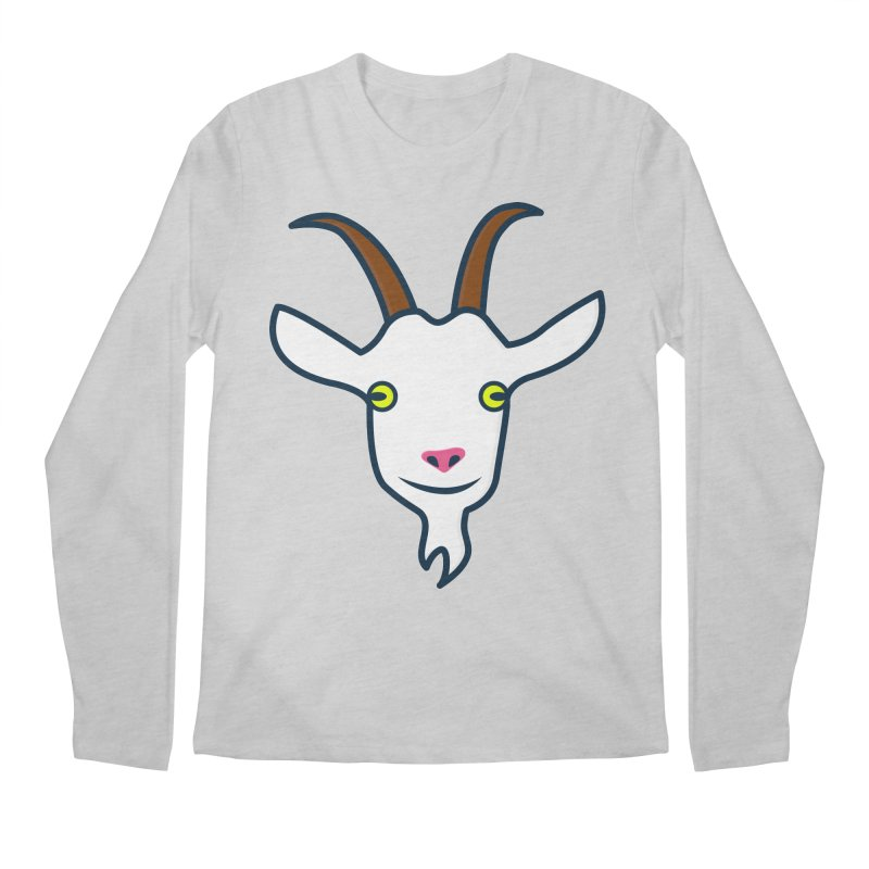 Goat Men's Regular Longsleeve T-Shirt by