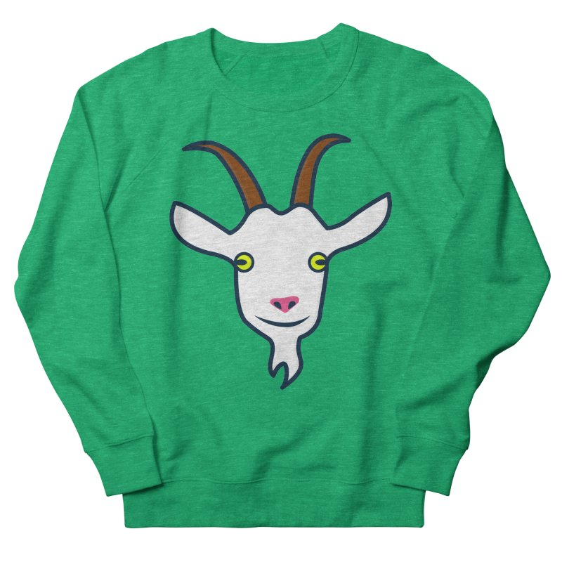 Goat Women's French Terry Sweatshirt by