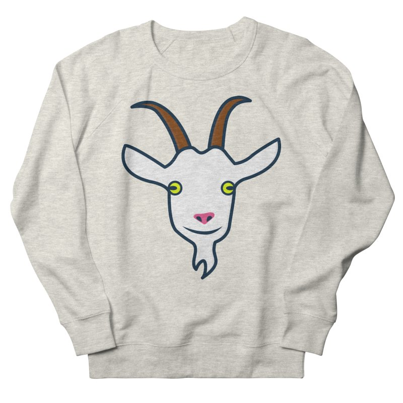 Goat Men's French Terry Sweatshirt by