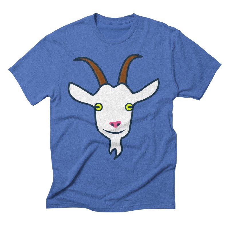 Goat Men's Triblend T-Shirt by