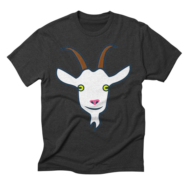 Goat Men's Triblend T-Shirt by