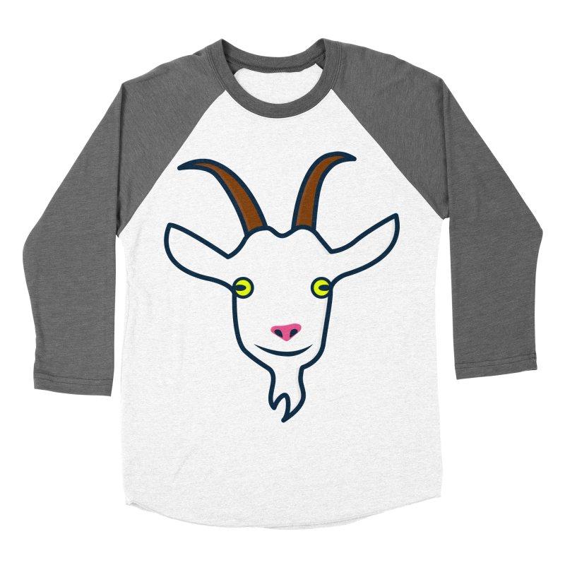 Goat Women's Baseball Triblend Longsleeve T-Shirt by