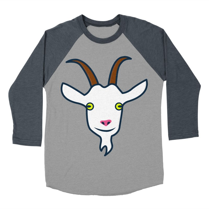 Goat Women's Baseball Triblend Longsleeve T-Shirt by
