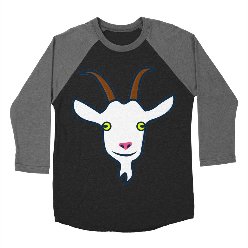 Goat Men's Baseball Triblend Longsleeve T-Shirt by