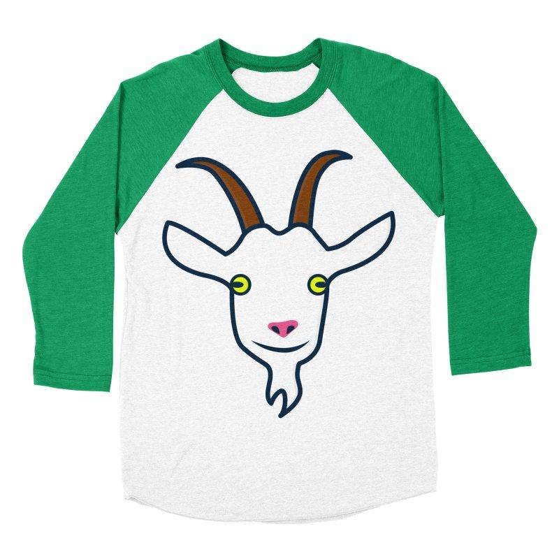 Goat Men's Baseball Triblend Longsleeve T-Shirt by