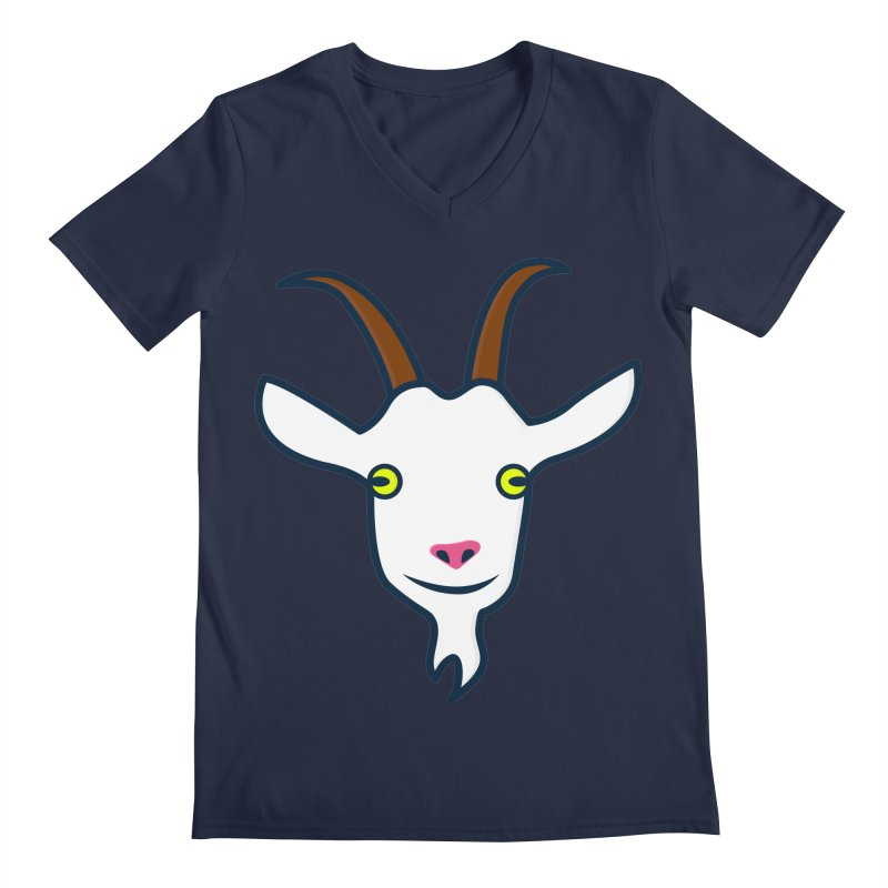 Goat Men's Regular V-Neck by