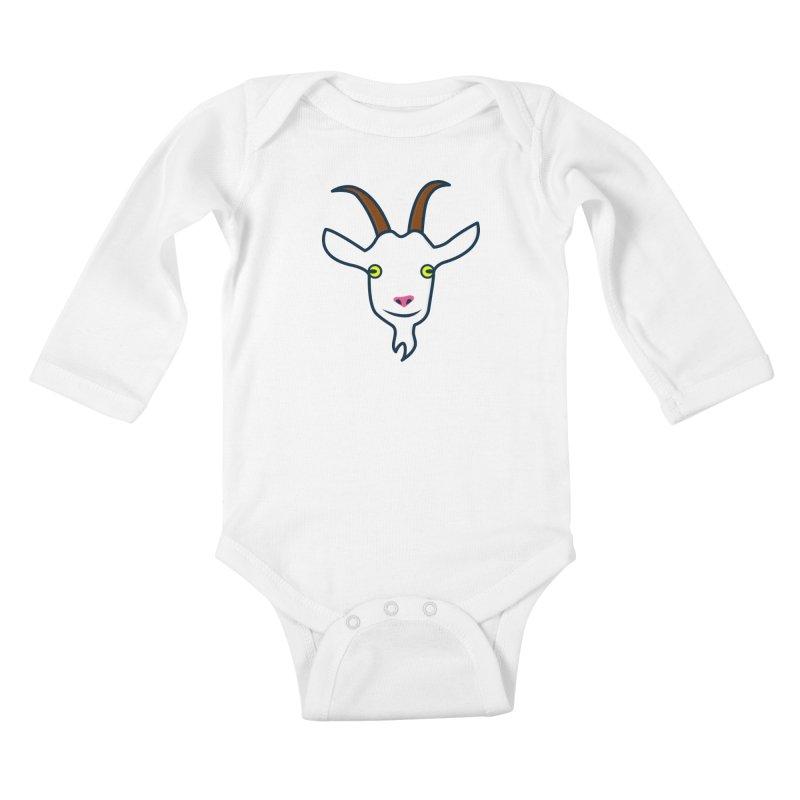 Goat Kids Baby Longsleeve Bodysuit by