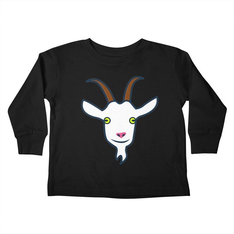 Goat Kids Toddler Longsleeve T-Shirt by