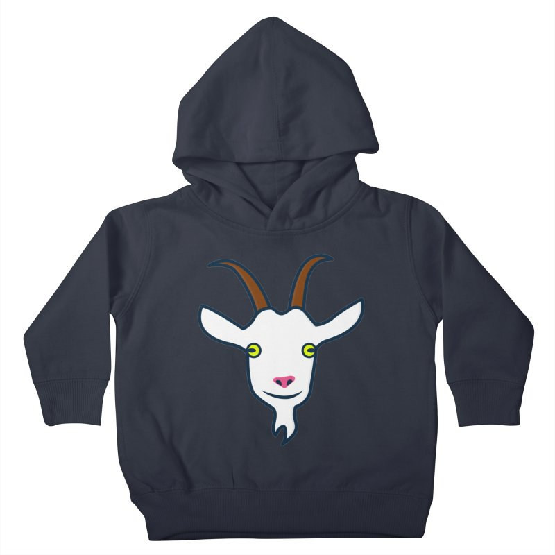 Goat Kids Toddler Pullover Hoody by