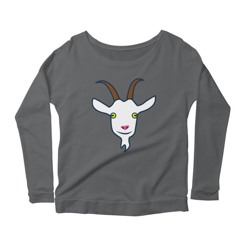 Goat Women's Scoop Neck Longsleeve T-Shirt by