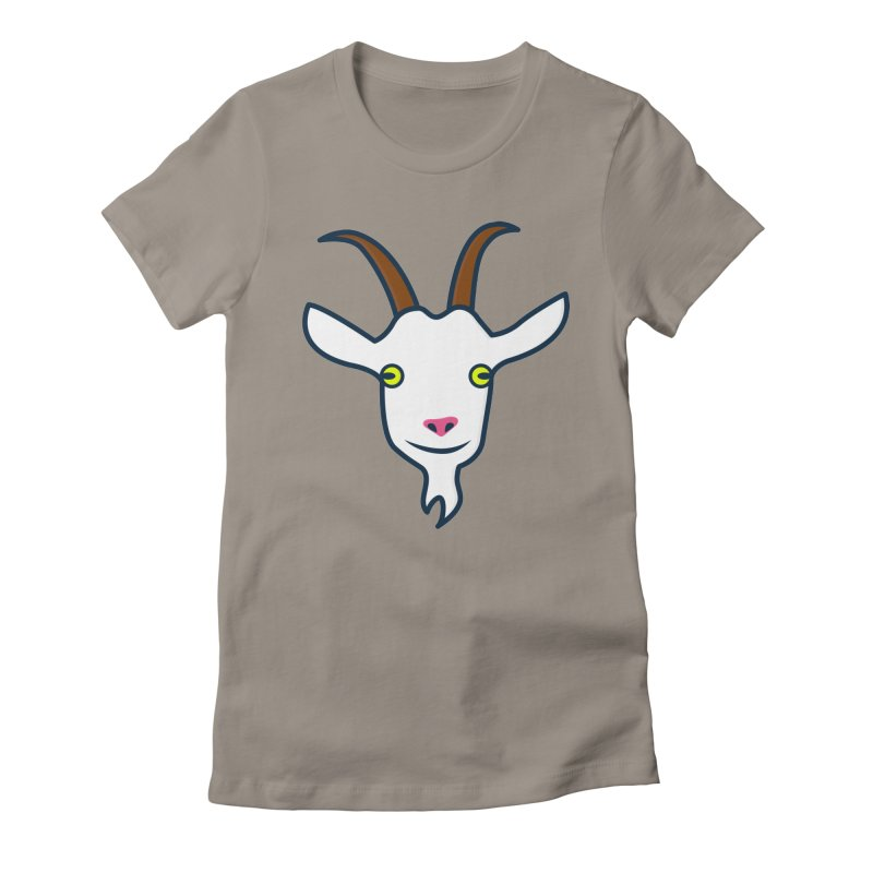 Goat Women's Fitted T-Shirt by
