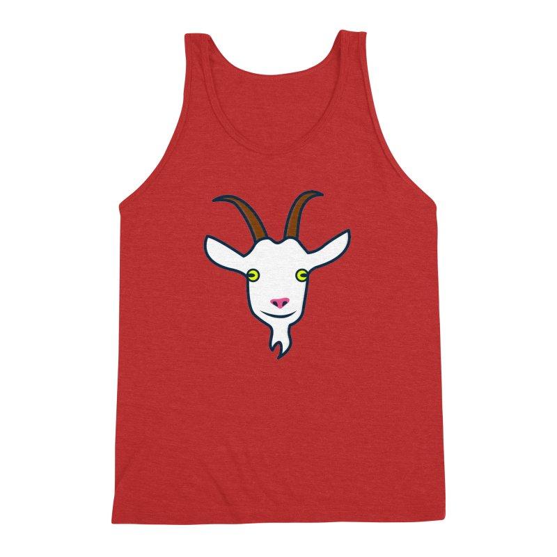 Goat Men's Triblend Tank by