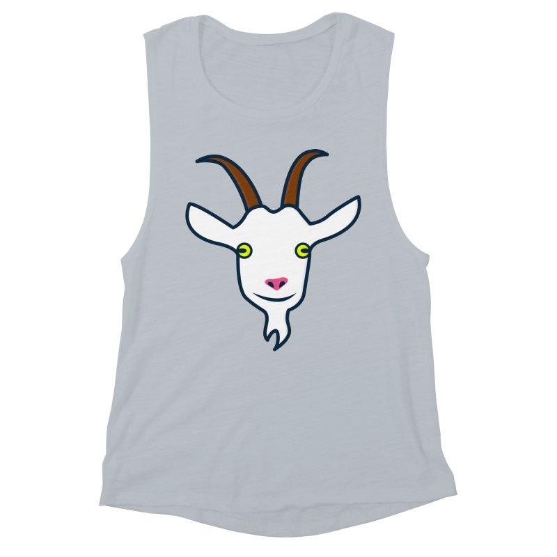 Goat Women's Muscle Tank by
