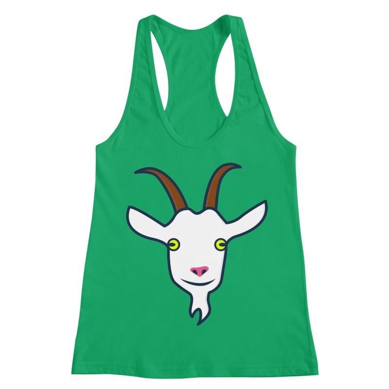 Goat Women's Racerback Tank by