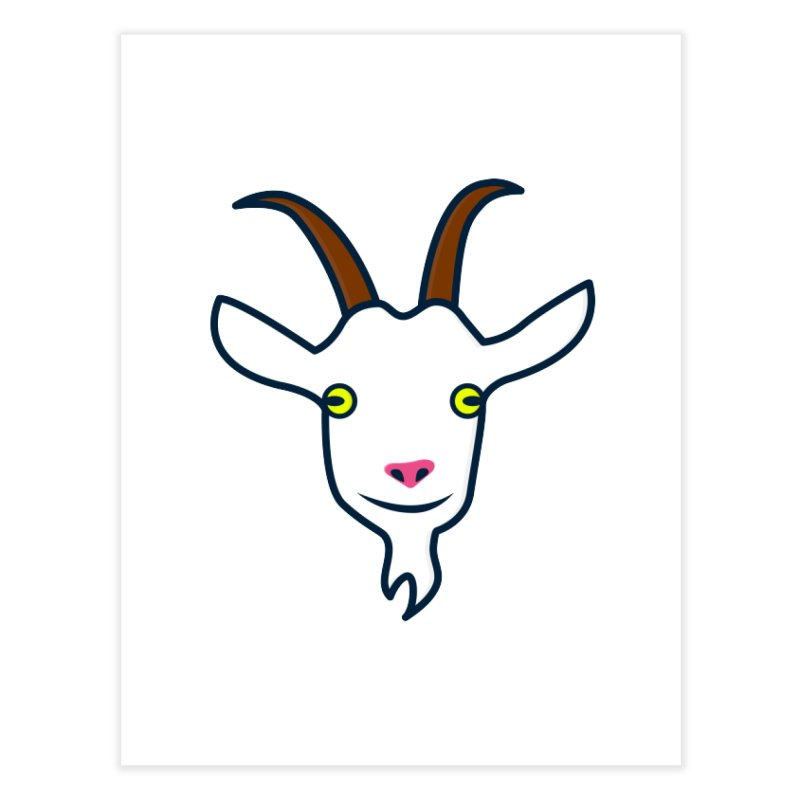 Goat Home Fine Art Print by
