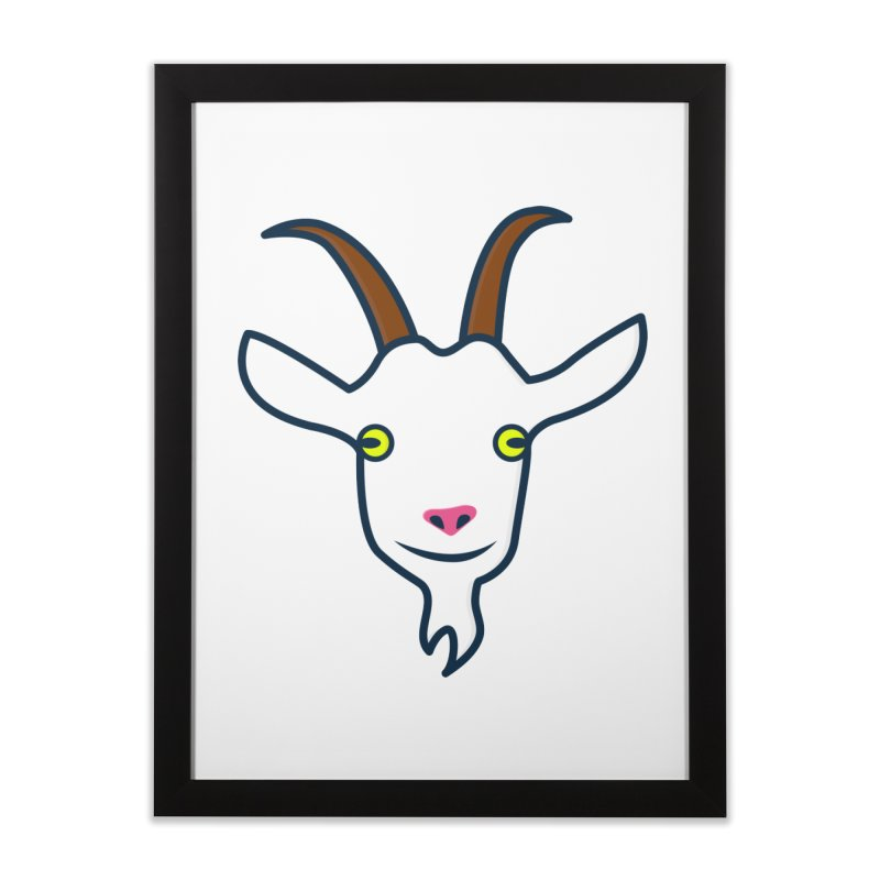 Goat Home Framed Fine Art Print by
