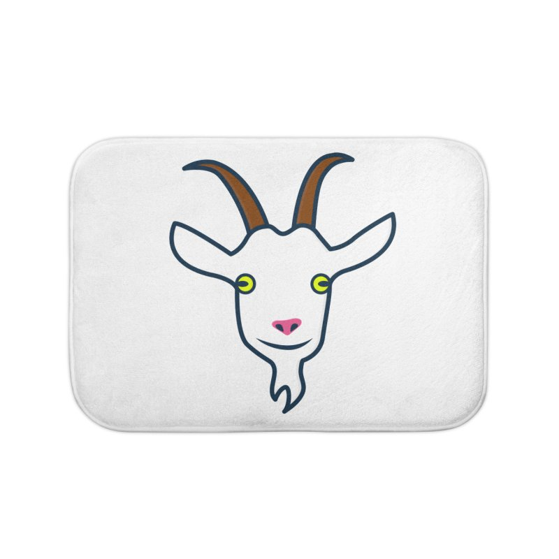 Goat Home Bath Mat by