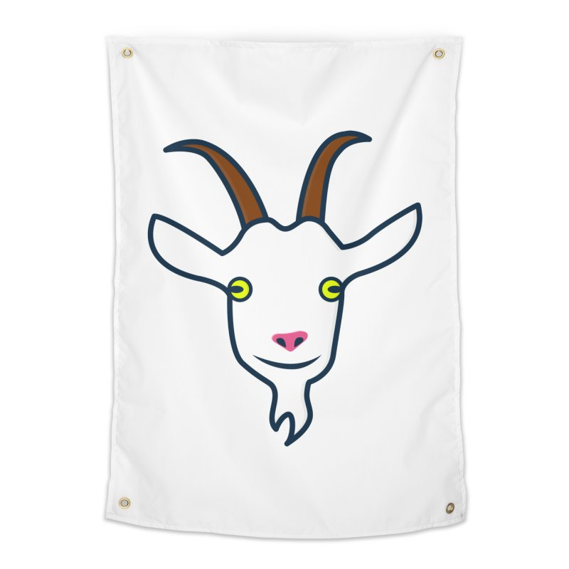 Goat Home Tapestry by