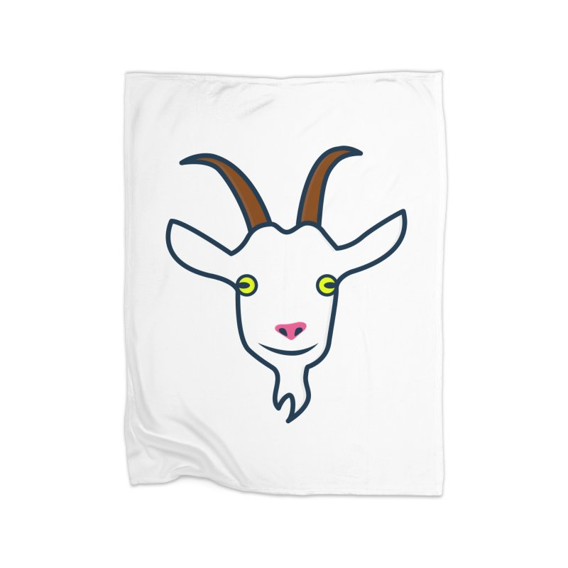 Goat Home Fleece Blanket Blanket by