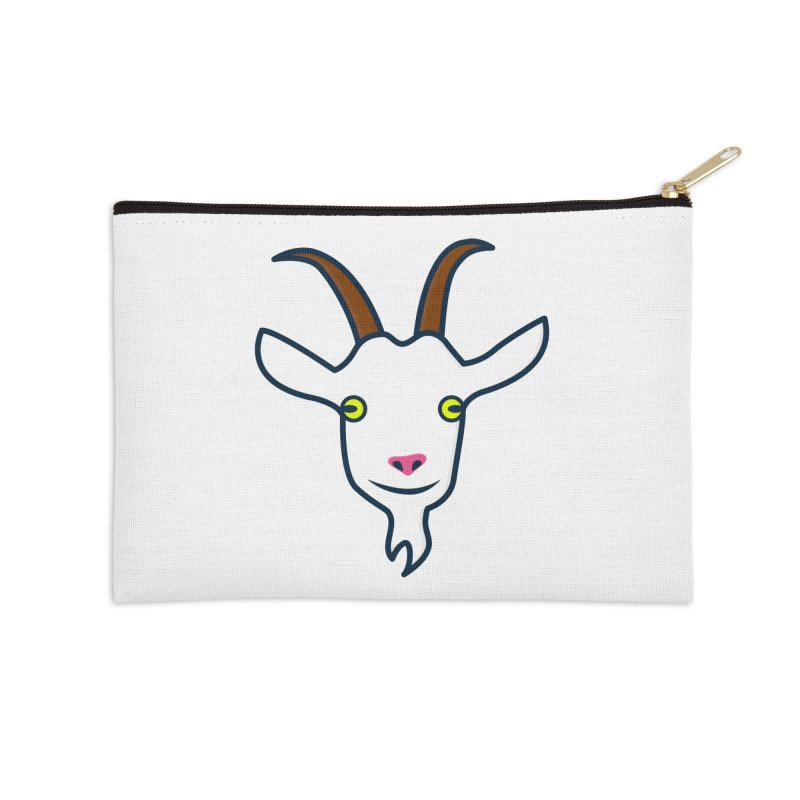 Goat Accessories Zip Pouch by